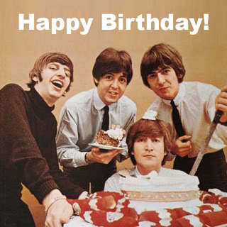 HAPPY BIRTHDAY BEATLES